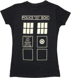 Doctor Who TARDIS Costume Baby Tee