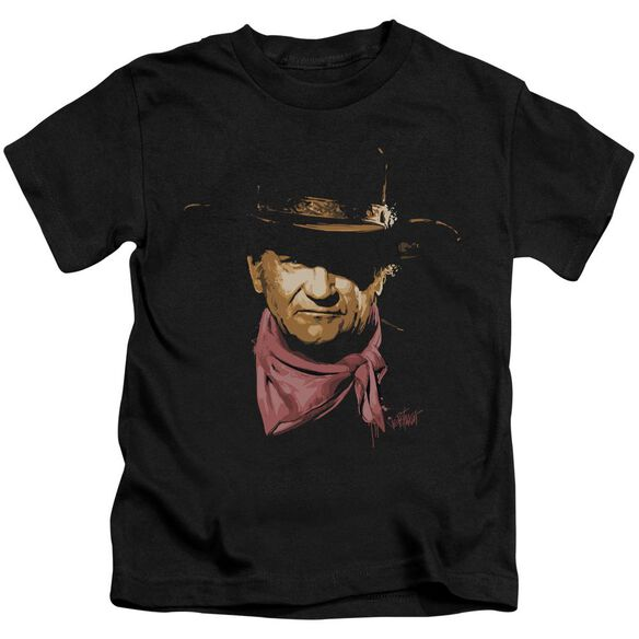 John Wayne Splatter Short Sleeve Juvenile T-Shirt