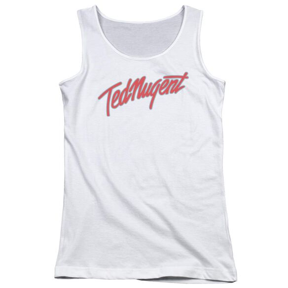 Ted Nugent Clean Logo Juniors Tank Top