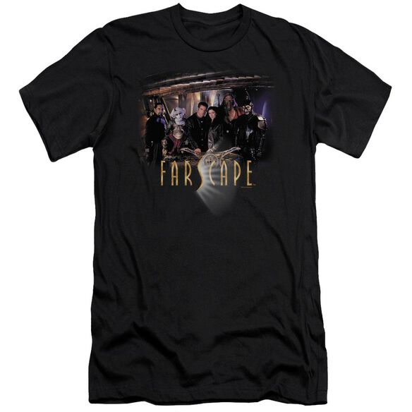 FARSCAPE CAST - S/S ADULT 30/1 - BLACK T-Shirt