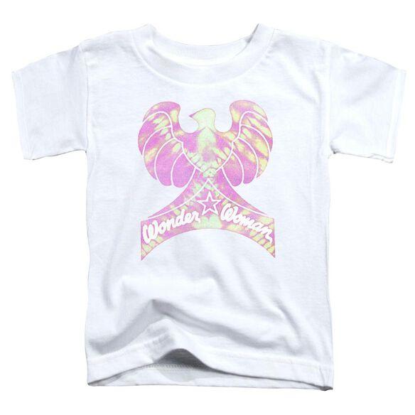 Dc Wonder Bird Short Sleeve Toddler Tee White T-Shirt