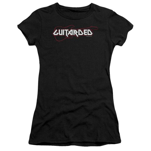 Guitarded Short Sleeve Junior Sheer T-Shirt