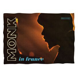 Thelonious Monk In France Pillow Case White