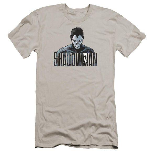 Shadowman Shadow Stare Premuim Canvas Adult Slim Fit