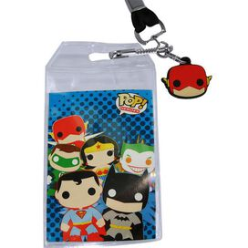 Flash Pop Heroes Lanyard