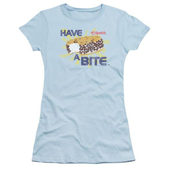 Chipwich Bite Short Sleeve Junior Sheer Light T-Shirt