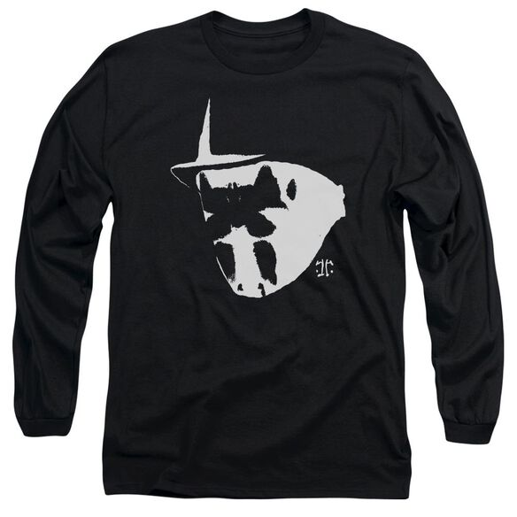 Watchmen Mask And Symbol Long Sleeve Adult T-Shirt