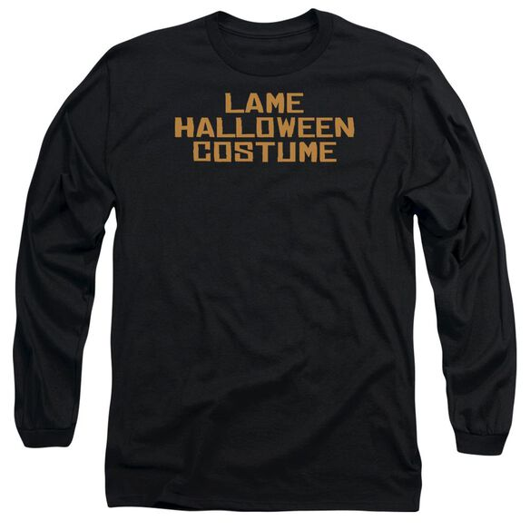 Lame Halloween Costume Long Sleeve Adult T-Shirt