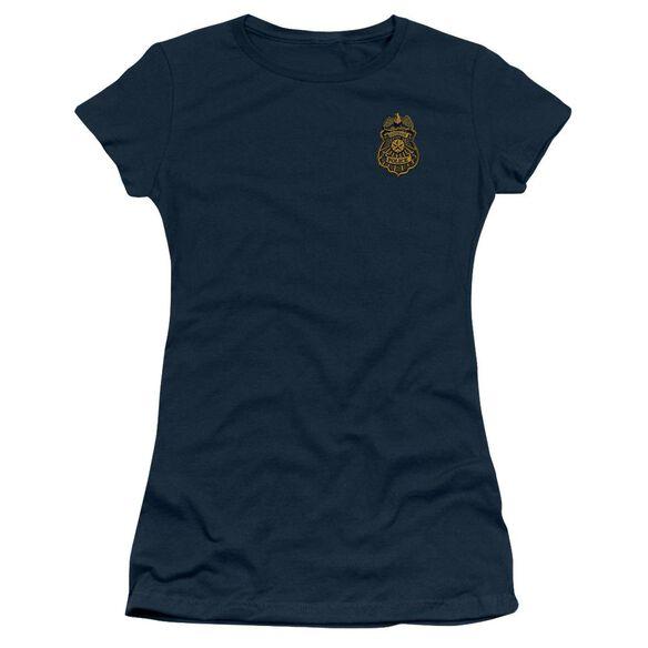 Batman Arkham Knight Gotham Badge Short Sleeve Junior Sheer T-Shirt