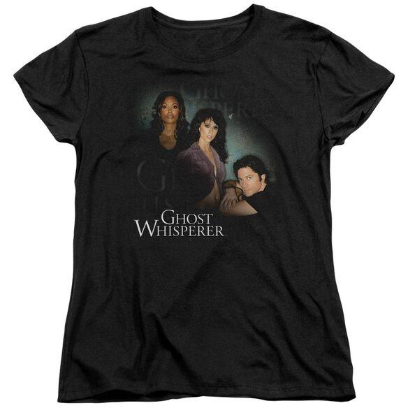 Ghost Whisperer Diagonal Cast Short Sleeve Womens Tee T-Shirt