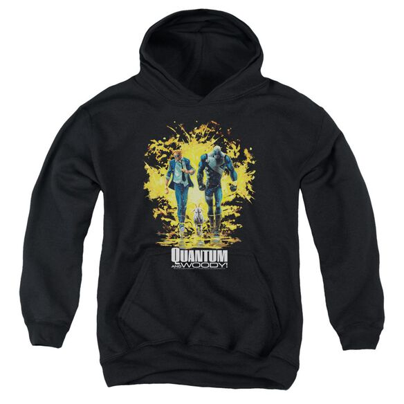 Quantum And Woody Explosion Youth Pull Over Hoodie