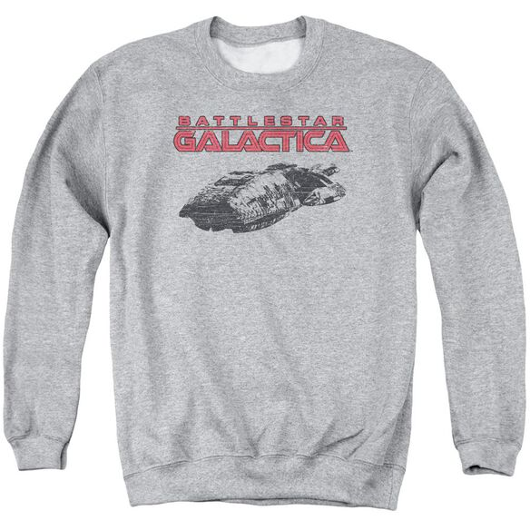 Bsg Ship Logo Adult Crewneck Sweatshirt Athletic