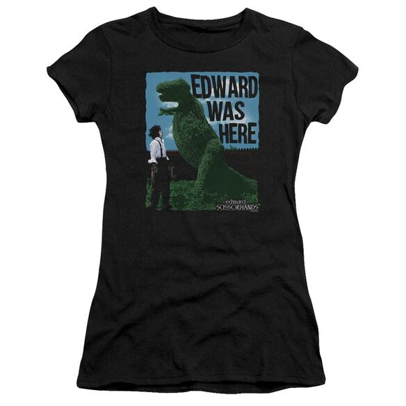 Edward Scissorhands Edward Was Here Premium Bella Junior Sheer Jersey