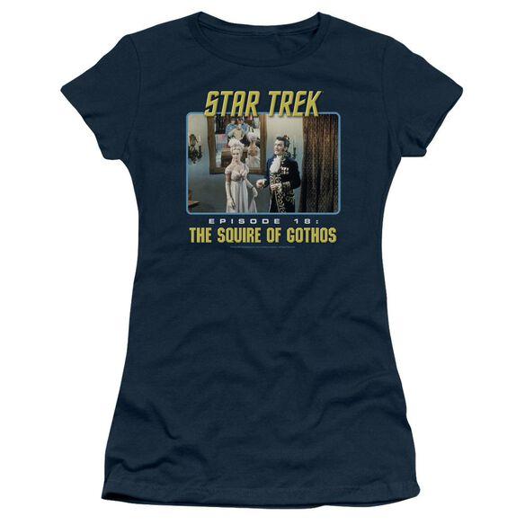 St Original The Squire Of Gothos Short Sleeve Junior Sheer T-Shirt