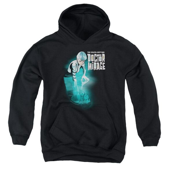 Doctor Mirage Crossing Over Youth Pull Over Hoodie