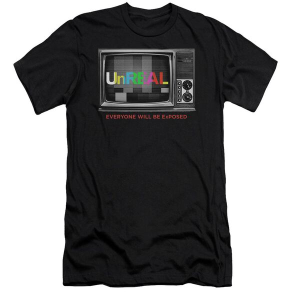 Unreal Static Hbo Short Sleeve Adult T-Shirt