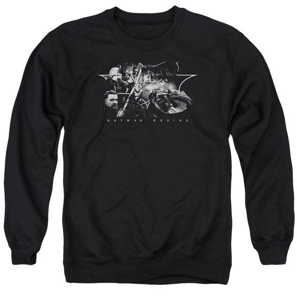 Batman Begins Night Natives Adult Crewneck Sweatshirt