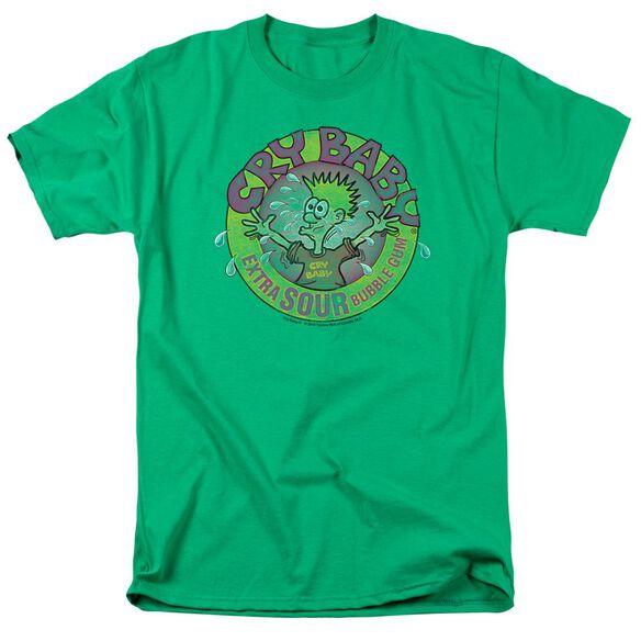 Dubble Bubble Logo Short Sleeve Adult Kelly Green T-Shirt