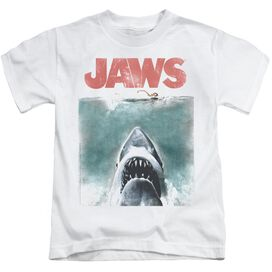 Jaws Vintage Poster Short Sleeve Juvenile T-Shirt