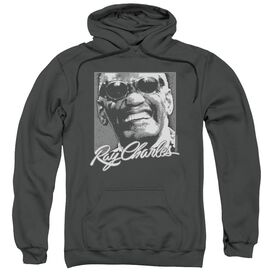 Ray Charles Signature Glasses Adult Pull Over Hoodie