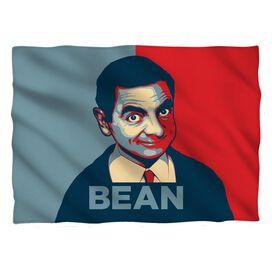 Mr Bean Poster Pillow Case White