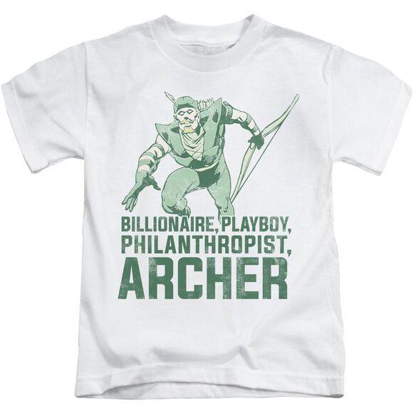 Dc Archer Short Sleeve Juvenile T-Shirt
