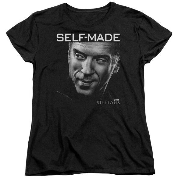 Billions Self Made Short Sleeve Womens Tee T-Shirt