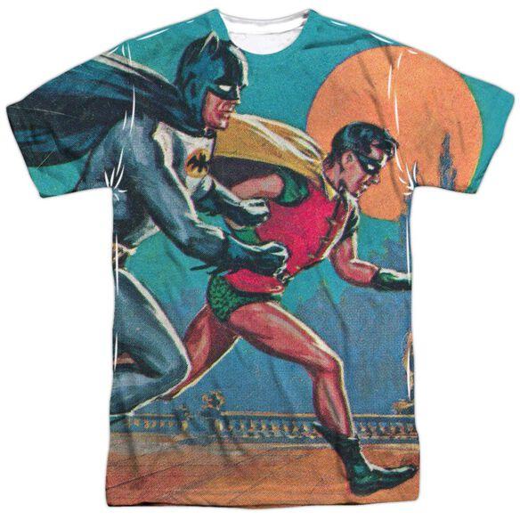Batman Classic Tv Lets Go Short Sleeve Adult Poly Crew T-Shirt
