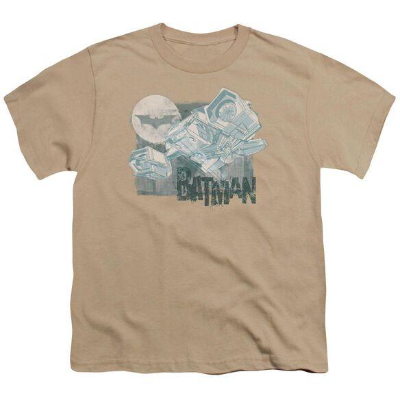 Dark Knight Rises Signal Return Short Sleeve Youth T-Shirt