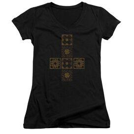 Hellraiser Lemarchands Puzzle Box Junior V Neck T-Shirt