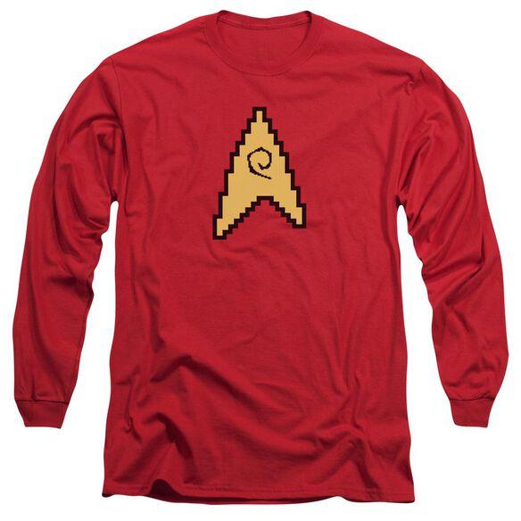 STAR TREK 8 BIT ENGINEERING-L/S T-Shirt