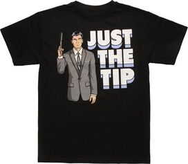 Archer Just the Tip T-Shirt