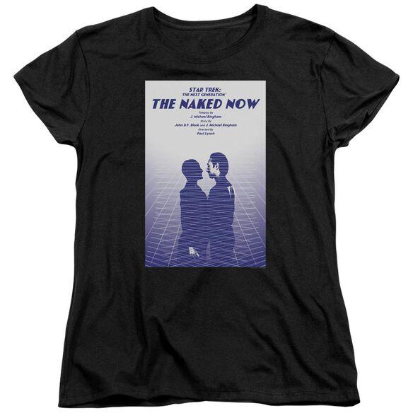 Star Trek Tng Season 1 Episode 3 Short Sleeve Womens Tee T-Shirt