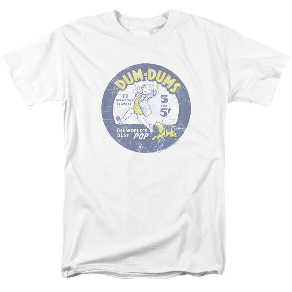 Dum Dums Pop Parade Short Sleeve Adult T-Shirt