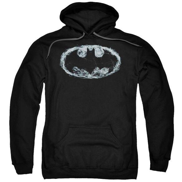 Batman Smoke Signal Adult Pull Over Hoodie