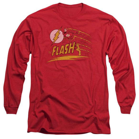 Dc Like Lightning Long Sleeve Adult T-Shirt