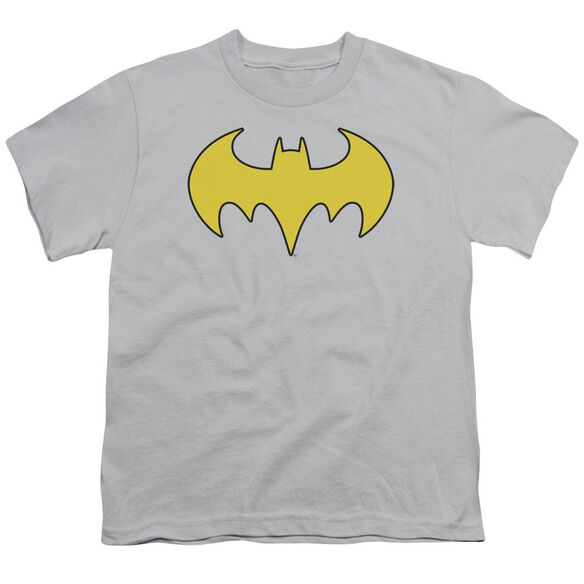 Dc Bat Girl Logo Short Sleeve Youth T-Shirt