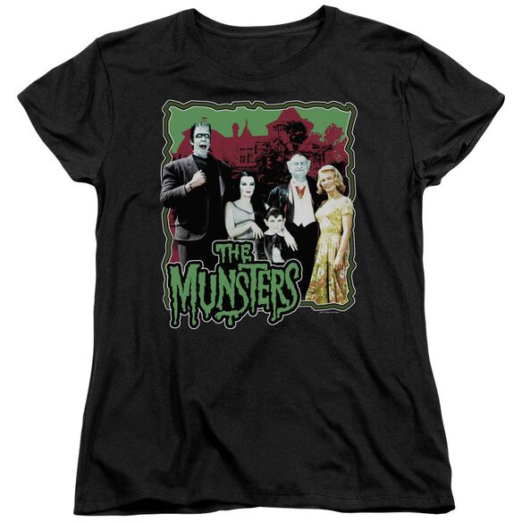 The Munsters Normal Family Short Sleeve Womens Tee T-Shirt