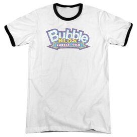 Dubble Bubble Bubble Blox Adult Ringer White Black