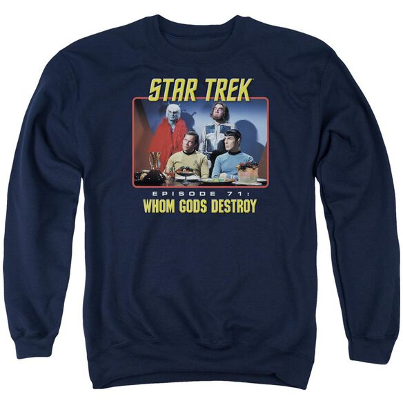 Star Trek Episode 71 Adult Crewneck Sweatshirt