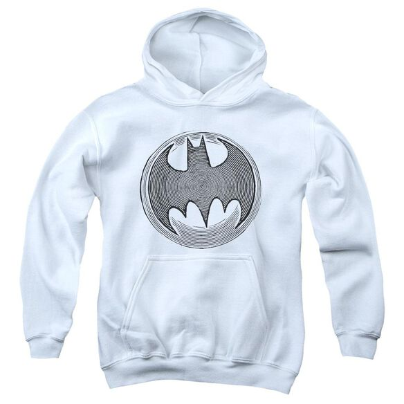 Batman Knight Knockout Youth Pull Over Hoodie