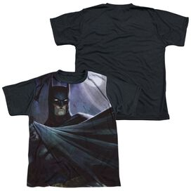 Infinite Crisis Batman Vs Joker Short Sleeve Youth Front Black Back T-Shirt