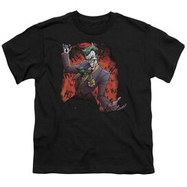 BATMAN JOKERS AVE - S/S YOUTH 18/1 - BLACK T-Shirt