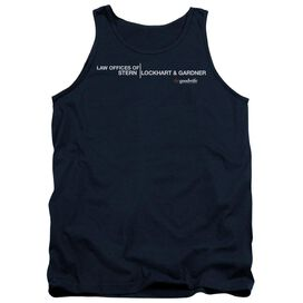 The Good Wife Law Offices - Adult Tank - Navy