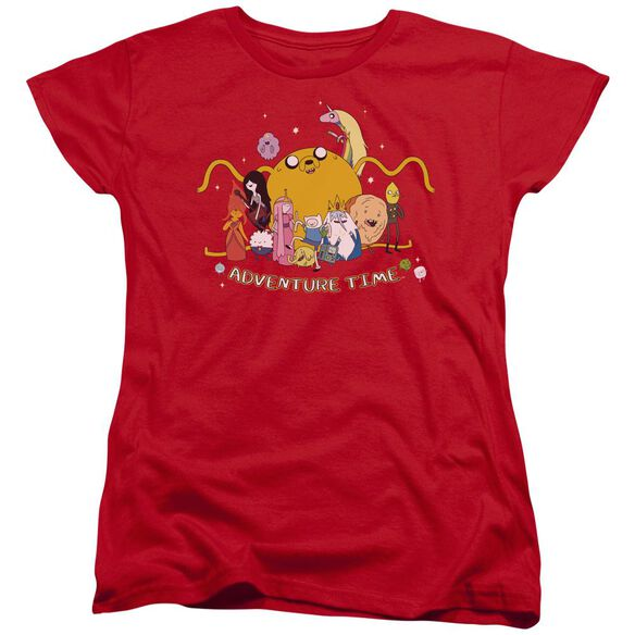 Adventure Time Outstretched Short Sleeve Womens Tee T-Shirt