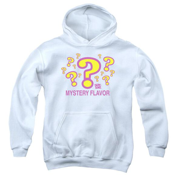 Dum Dums Mystery Flavor-youth Pull-over Hoodie - White