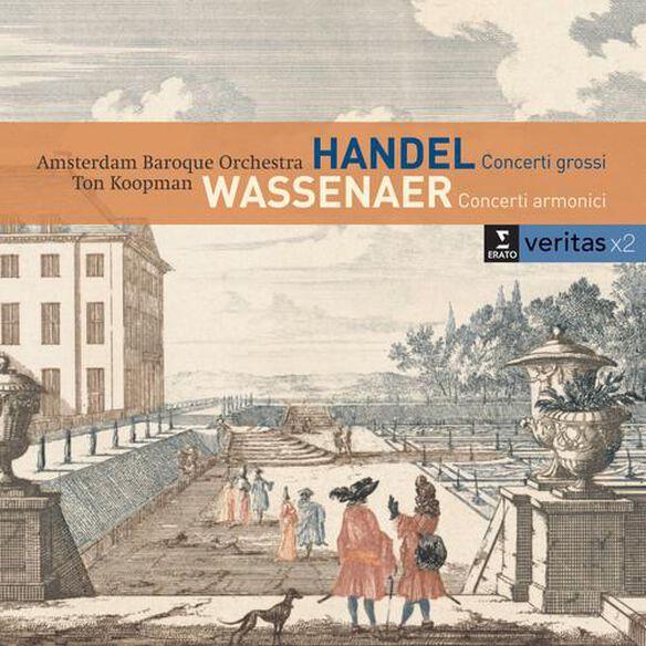 Concerti Grossi Op 6 Nos 1 2 4 & 6 / Van Wassenaer