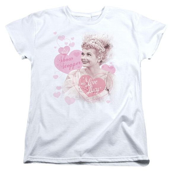 I Love Lucy Show Stopper Short Sleeve Womens Tee T-Shirt