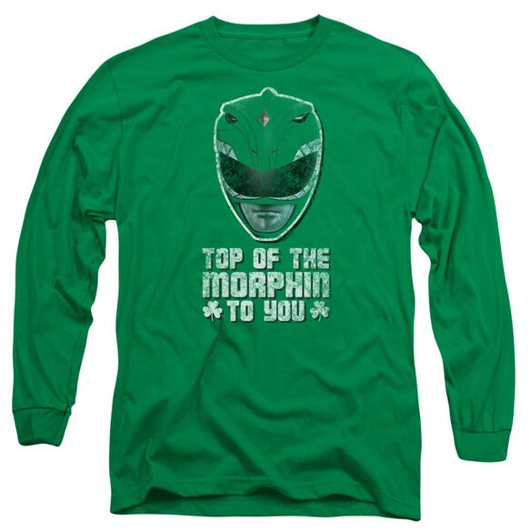 Power Rangers Top Of The Morphin To You Long Sleeve Adult Kelly T-Shirt