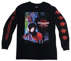 Spiderman Into the Spiderverse LS T-shirt